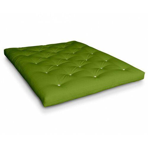 Photo of Futonmatratze Naoko Ebern Designs Liegefläche: 180 x 200 cm, Farbe: Lime