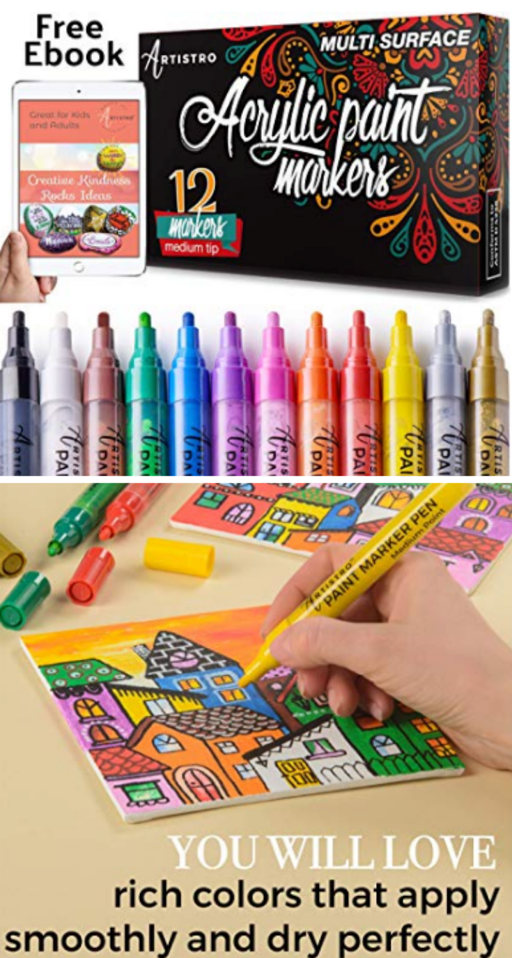 The best Paint pens for kids crafts and art projects! Easy