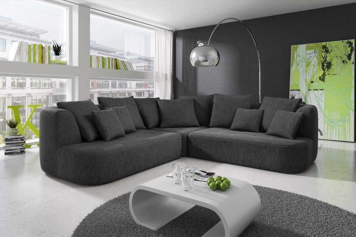 wohnzimmer couch anthrazit | Interior design, Home, Home decor