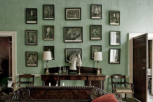 georgian picture wall