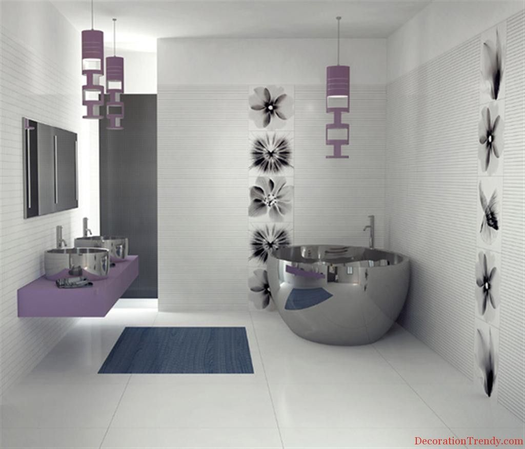 Bathroom decor design for decoration trendy kitchen and
