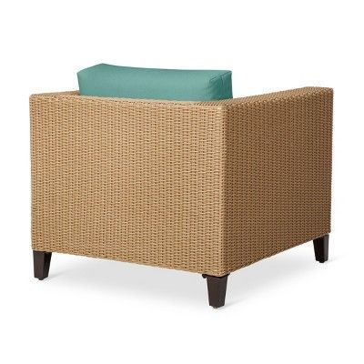 Fullerton Wicker Patio Club Chair - Turquoise - Threshold
