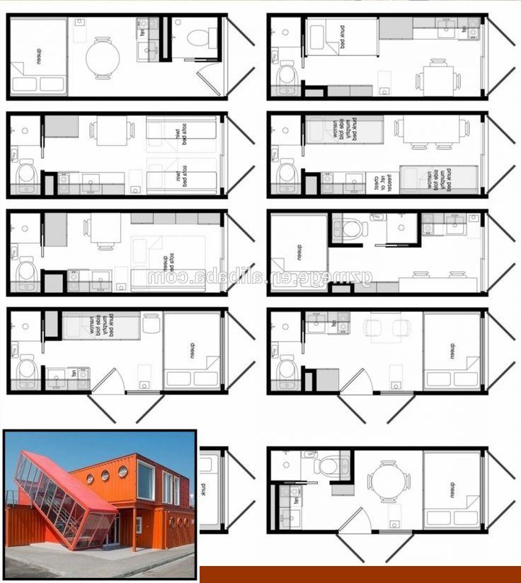40 foot container home floor plan and 4 bedroom shipping