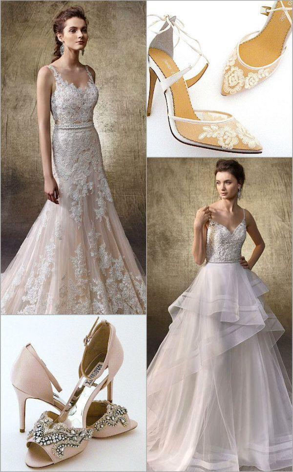 Wedding Shoes Wedding Dresses Bridal Wedding