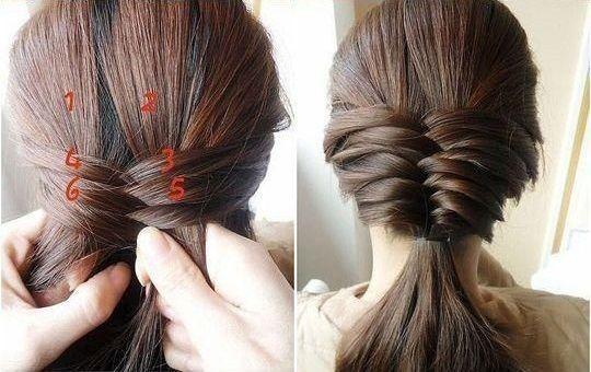 Cute Fishtail Braided Hairstyle Tutorial | Fishtail braid hairstyles ...