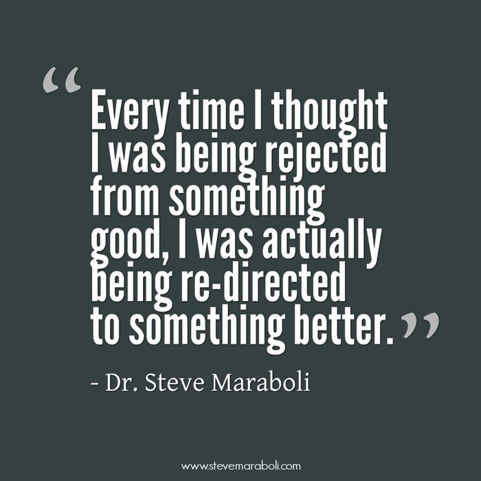 The Gift Of Rejection Inspirational Quotes Rejected