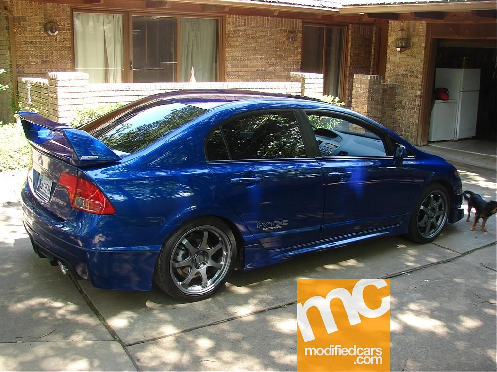 Modified honda civic si mugen 2008 picture 3 modified cars