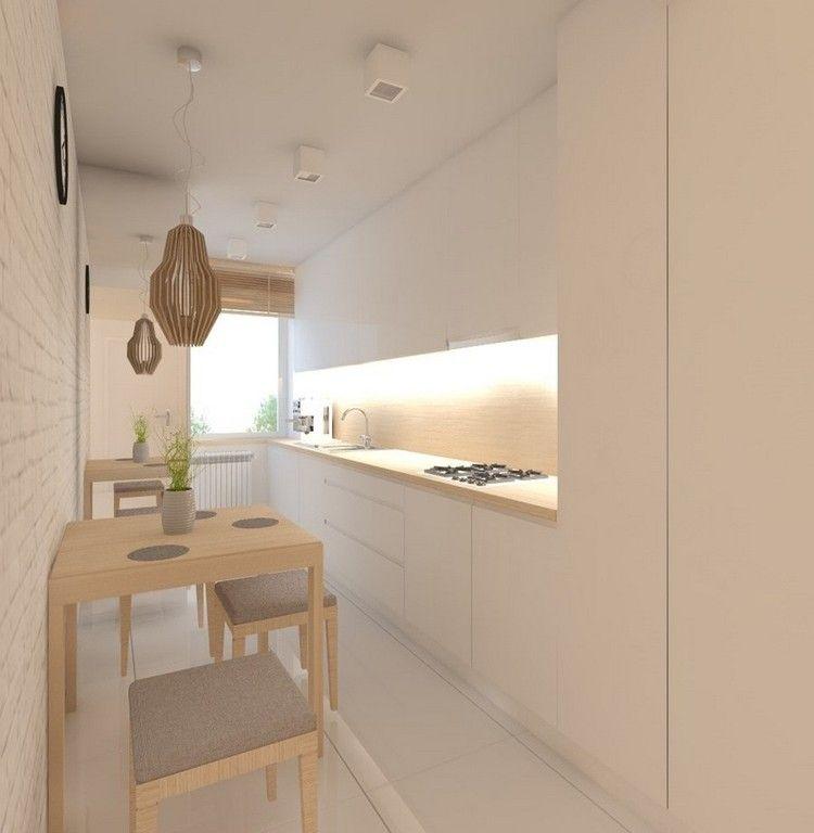 wohnungseinrichtung ideen kueche matt weiss grifflos essecke wandspiegel k chen pinterest. Black Bedroom Furniture Sets. Home Design Ideas