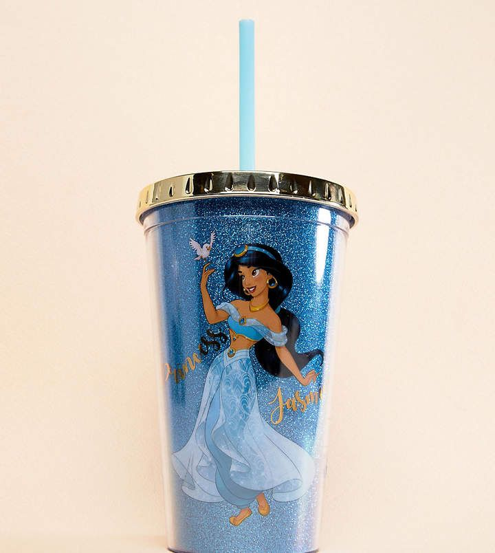 d52a87b5c8a BB Designs Disney Jasmine Water Tumbler With Straw | All Things ...