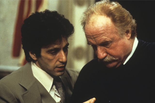 Imdb And Justice For All Still Of Al Pacino And Jack Warden In And Justice For All 1979 A C T O R S Justicia Y Cine