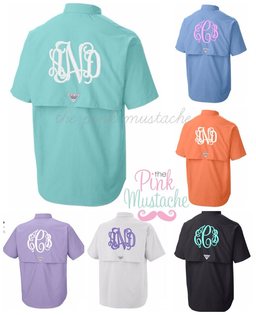 05bb8a4714543 Columbia PNG Monogrammed Swim Cover Up / Monogrammed Columbia Fishing Shirt