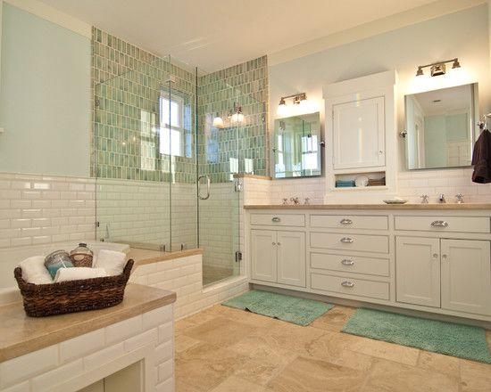 Coastal Bathroom Tile Ideas: Coolest Beach Style Bathroom Designs