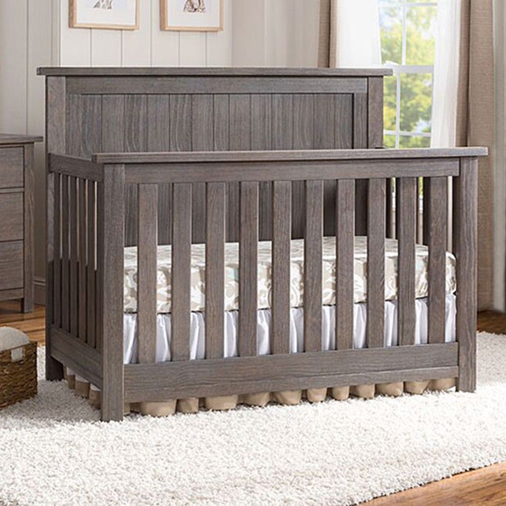 Best Serta Northbrook 4 In 1 Crib Rustic Crib Grey Nursery 400 x 300