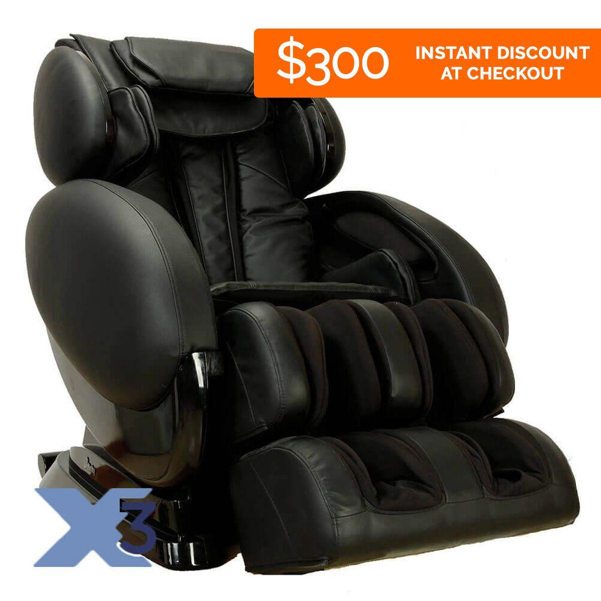 Infinity IT8500X3 Massage Chair Massage chair, Massage