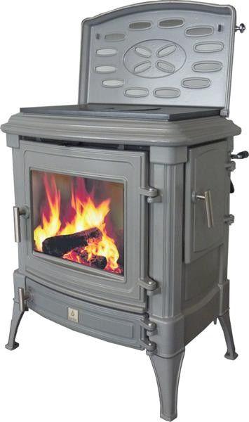 po le bois stanford 9 maill gris clair a po le pinterest stove and vintage decor. Black Bedroom Furniture Sets. Home Design Ideas