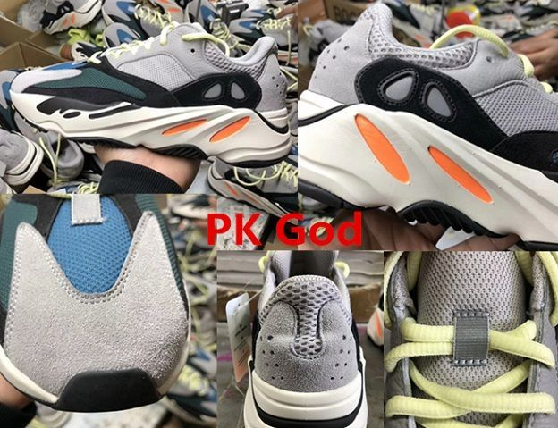 best sneakers 750f2 ca92a Adidas yeezy Wave Runner 700 OG Solid Grey Boost B75571 PK God cheapest  legit check review