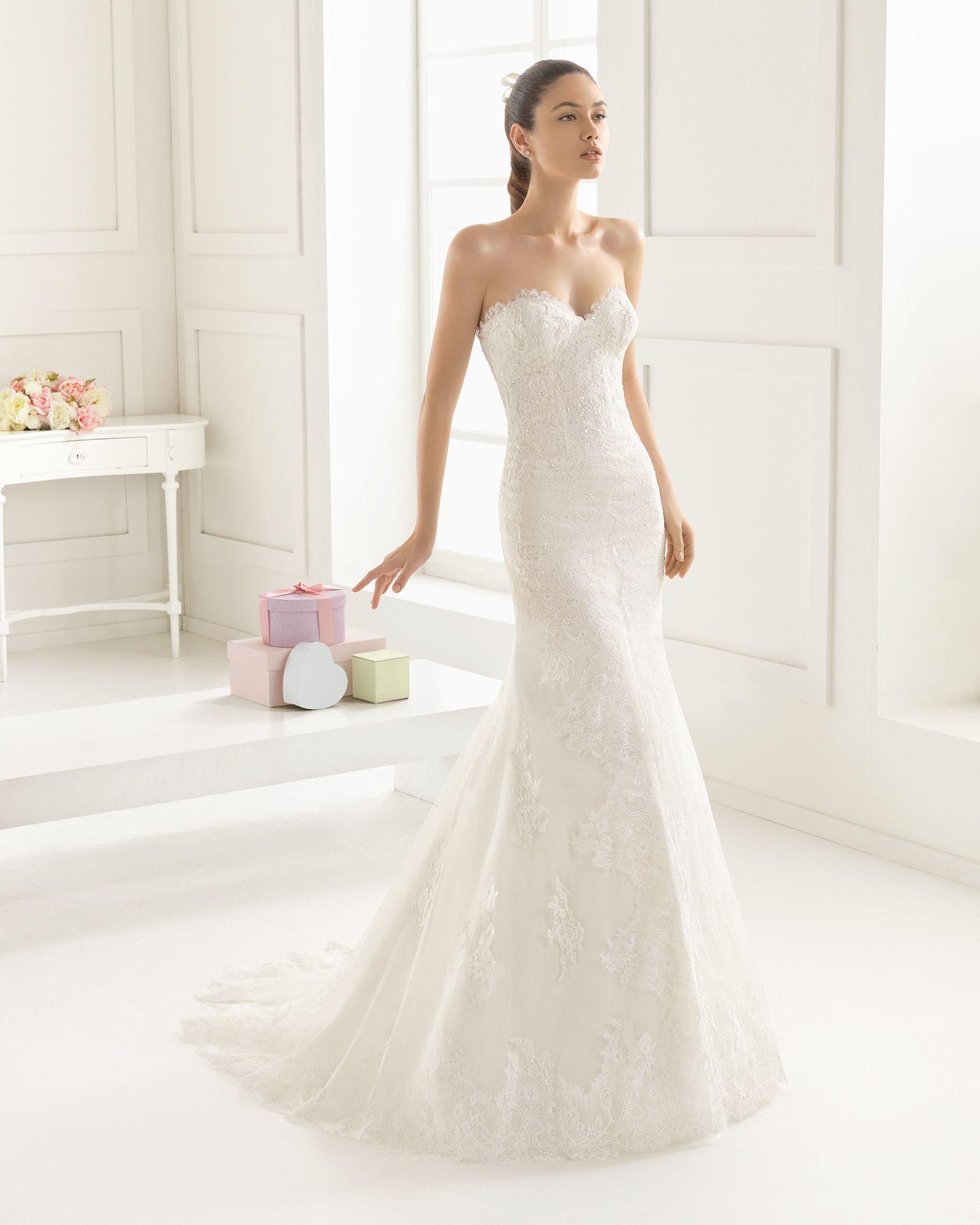 Vestidos de novia rosa clara jaen
