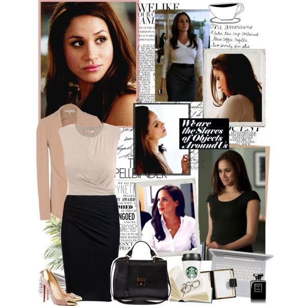 Rachel Zane's style in suits... best business outfits ever!
