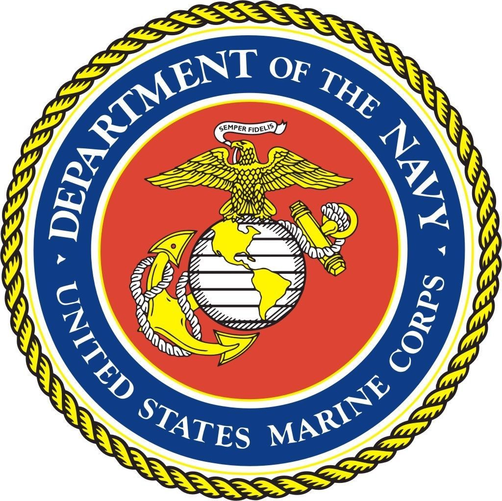 Dept Of The Navy Window Wall Vinyl Decal Sticker Military U.S