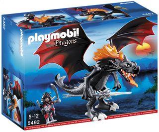 Artikeldetail : Playmobil Dragons 5482 Grote Koningsdraak met lichtgevende vlam