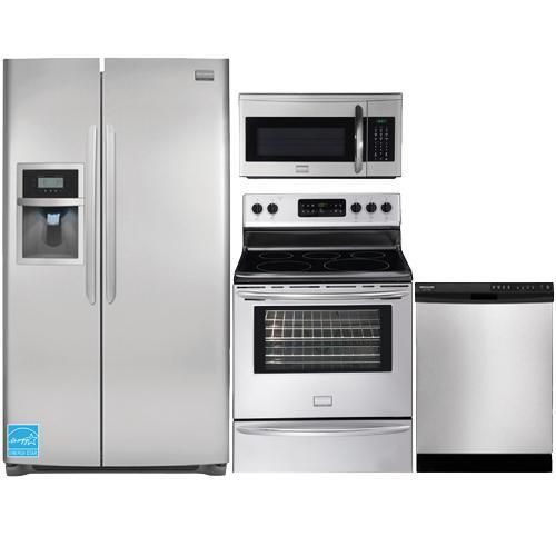 Best Frigidaire Stainless Steel Complete Kitchen Package 400 x 300