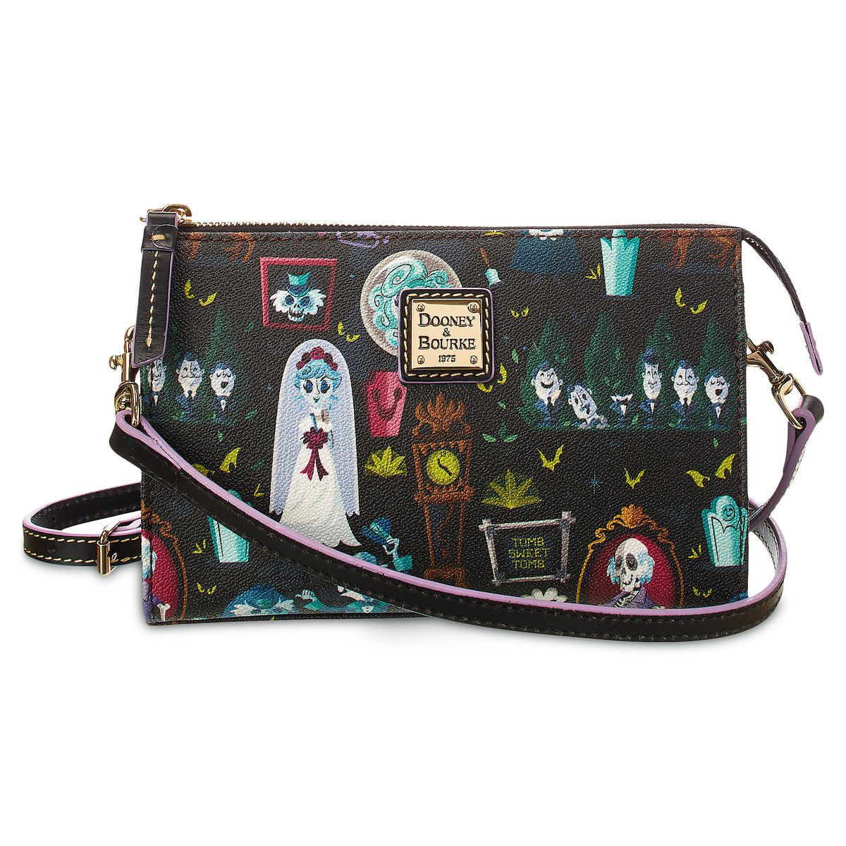 New Haunted Mansion Dooney And Bourke Collection Is Full Of Character Dooney And Bourke Disney Disney Dooney Dooney Bourke