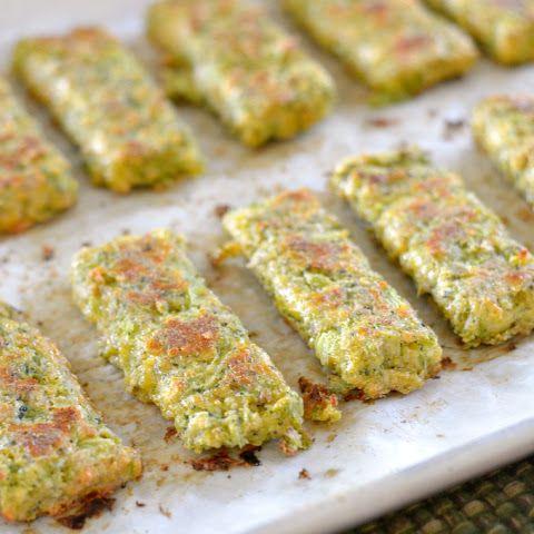 An Easy Kid-Friendly Broccoli Cheese Sticks