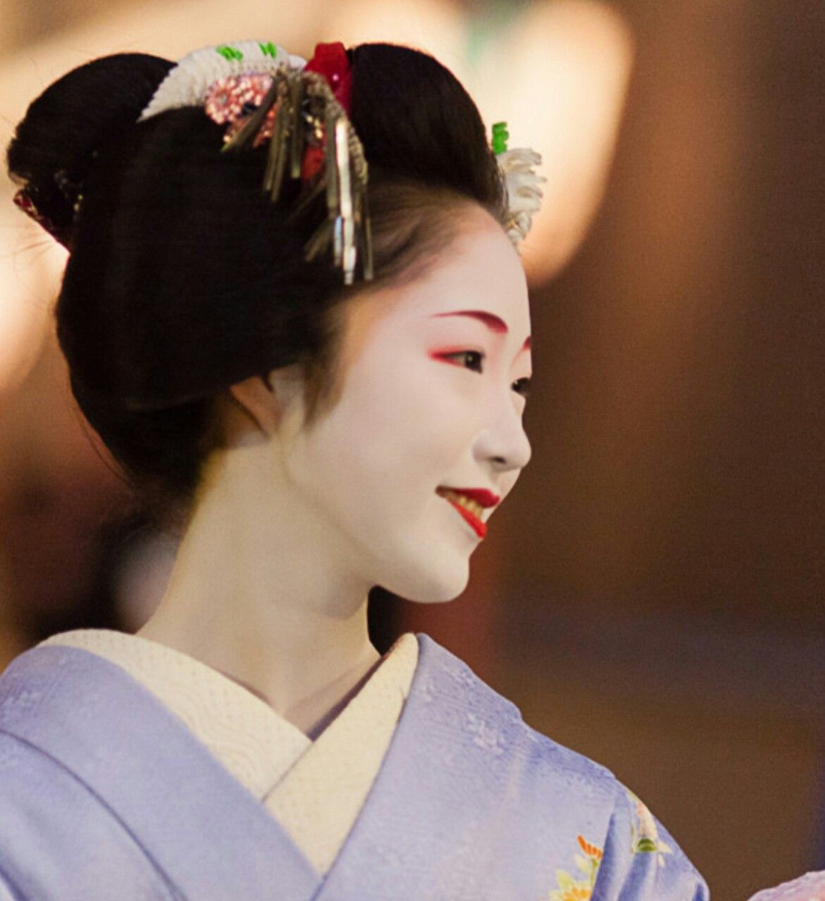 Maiko Her Name Is Toshikana Japan Kyoto Geisha Maiko
