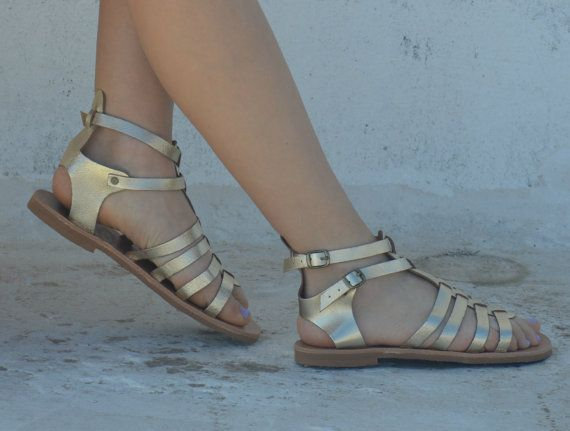 Unisex Gladiator leather strap sandals, Ancient Greek Sandals,Barefoot sandals,Genuine leather!Womens sandals!Mens or womens boho hippie