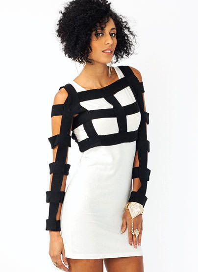 KNIT BANDAGE CROPPED TOP on Chiq  $35.10 http://www.chiq.com/knit-bandage-cropped-top
