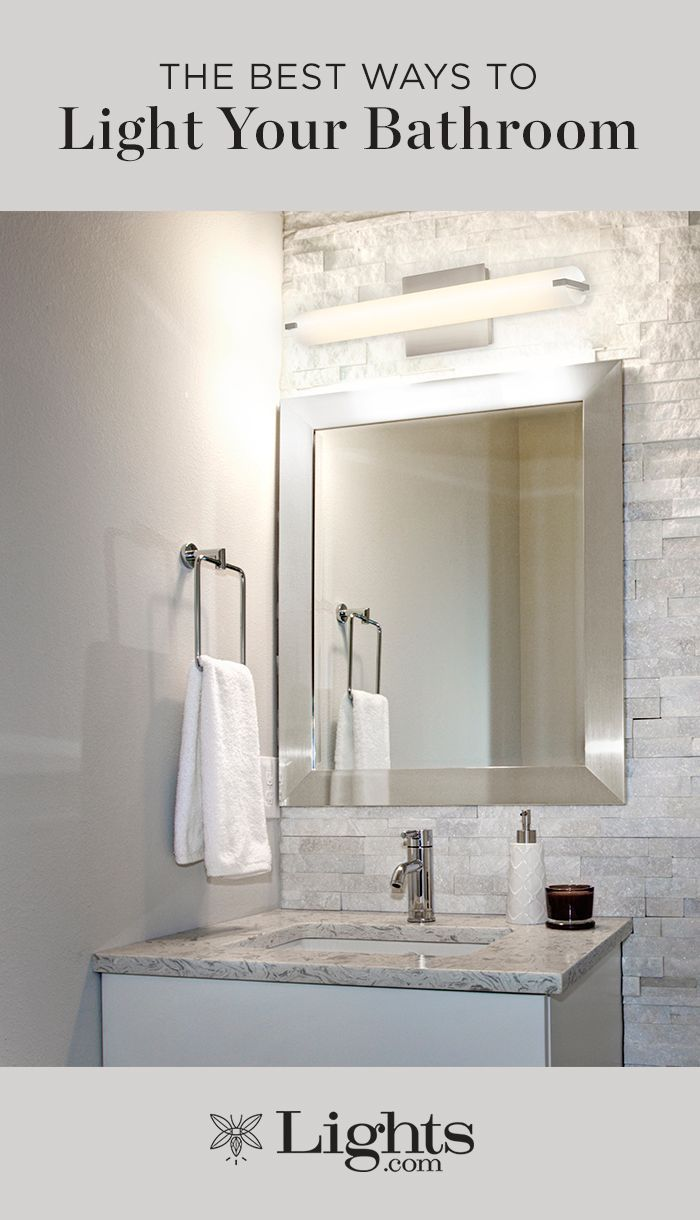 Lighting Basement Washroom Stairs: The Best Ways To Light Your Bathroom In 2019