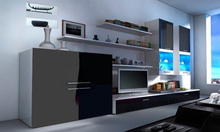 Groupon goods global gmbh: muur tv meubel meerdere modellen en