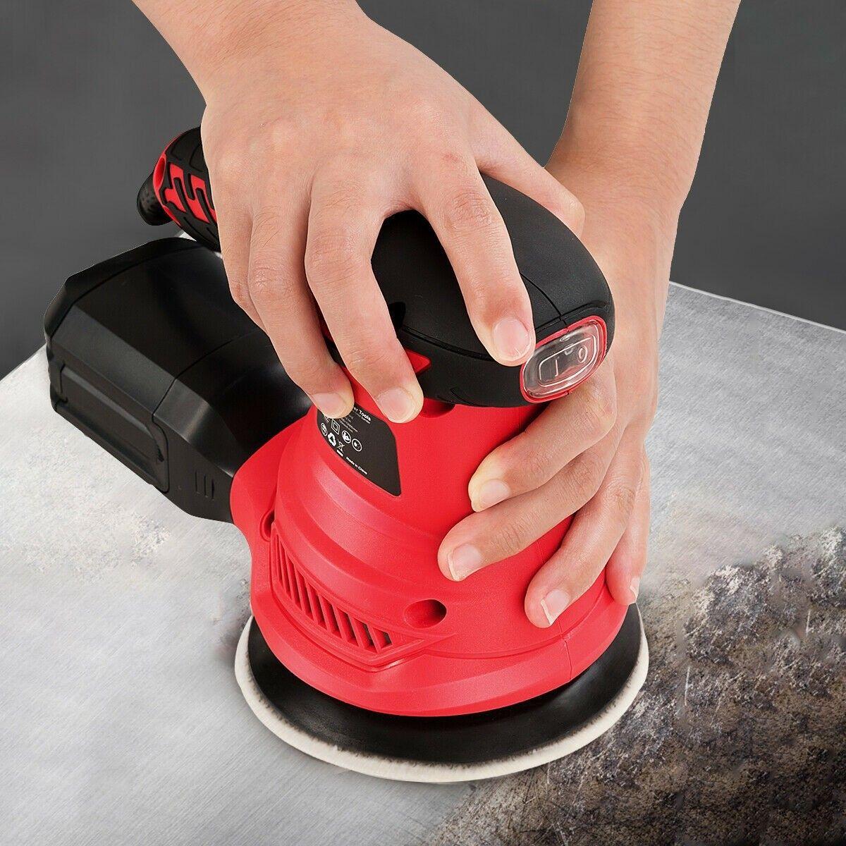 how to sand a deck with an orbital sander