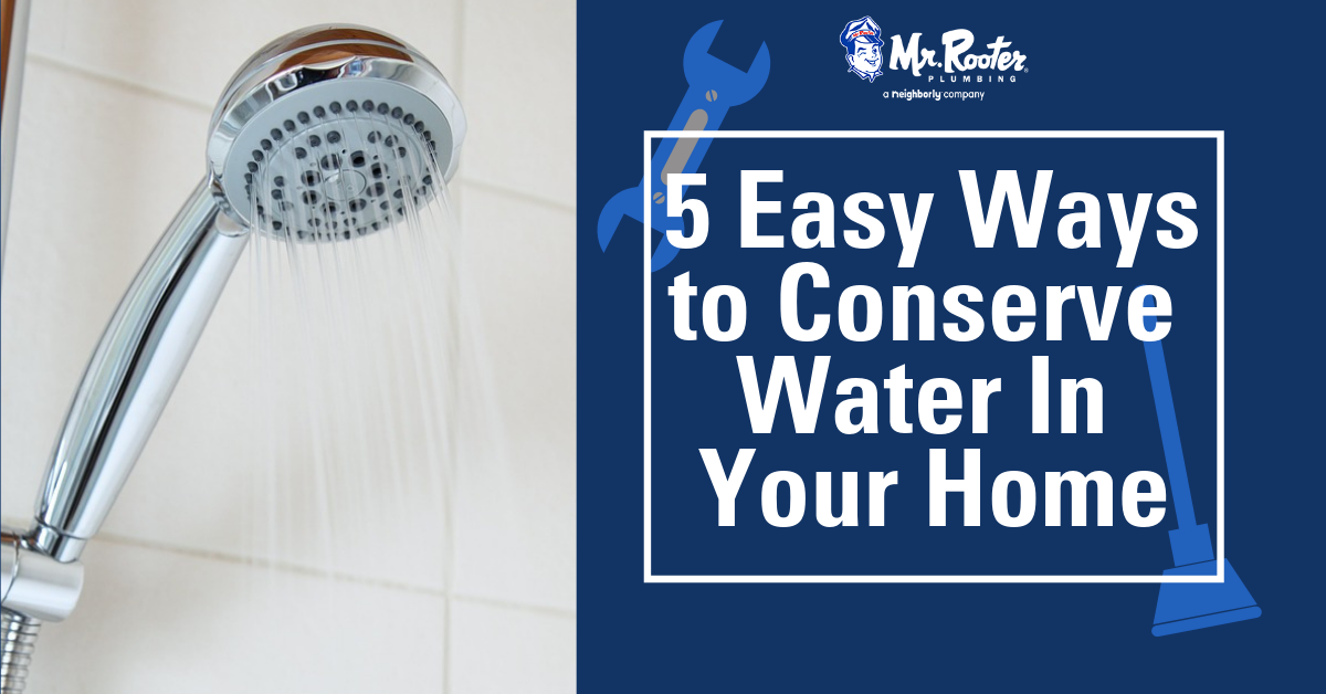 Five Easy Ways To Conserve Water In Your Home Ways To Conserve Water Water Conservation Homeowner Maintenance