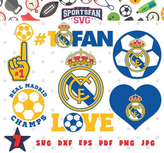 real madrid team collection svg real madrid logo soccer mom soccer team