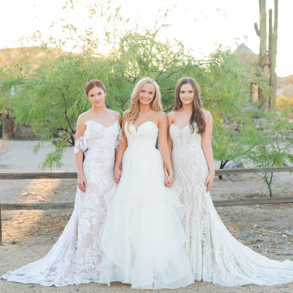Is anybody getting a FRIENDS flashback Three gorgeous gowns are ...