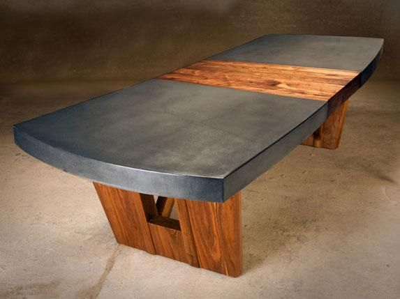Trestle Table | Concrete Revolution Studio