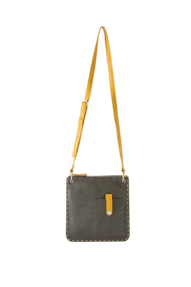 e0ec2ef18d0a From Shiraleah, this Chicago Mini-Cross Body Bag is crafted of ...