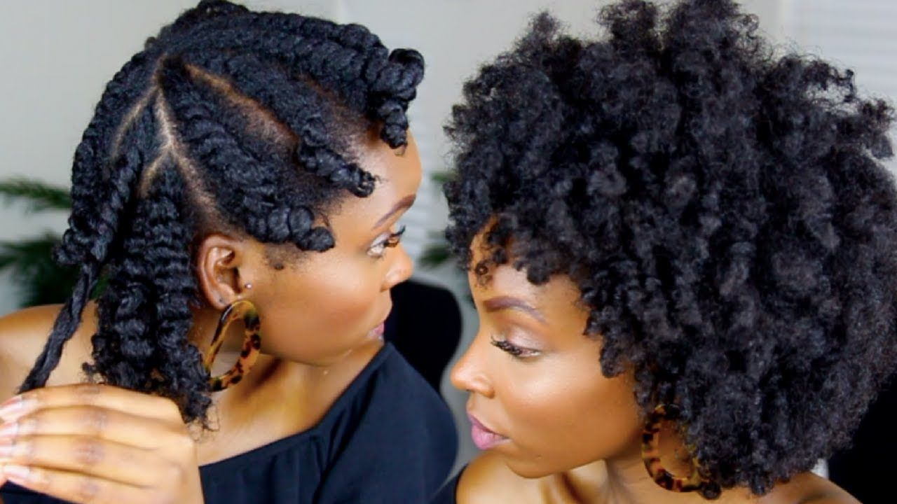 Flat Twist Out On 4c Natural Hair Youtube Braid Out Natural Hair Natural Hair Styles 4c Natural Hair