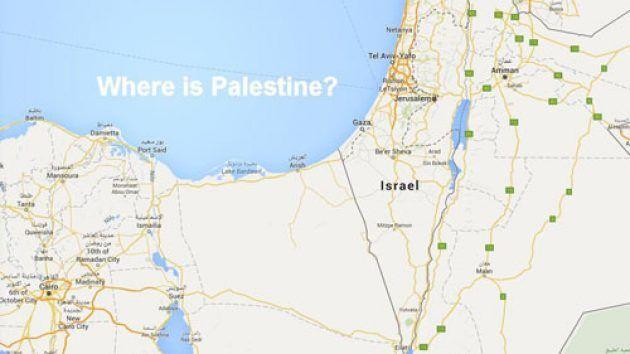 Google Sedang mendapat Kritikan Tajam Karena Sengaja Hapus Peta Palestina di Google Map