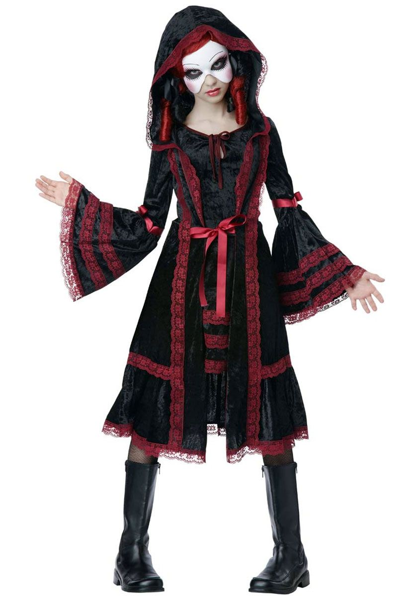 Scary Halloween Costumes For Kids Girls Uk.Child S Day Of The Dead Dia De Los Mueros Costume In 2019