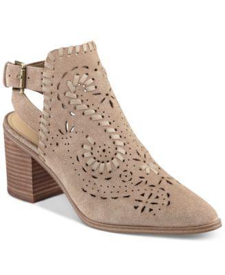 Ivanka Trump Dora Block-Heel Booties - Boots - Shoes - Macy's
