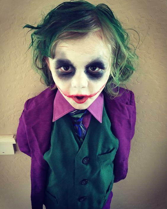 Diy Classic Joker Costume Maskerix Com Joker Halloween Costume Boy Halloween Costumes Joker Halloween