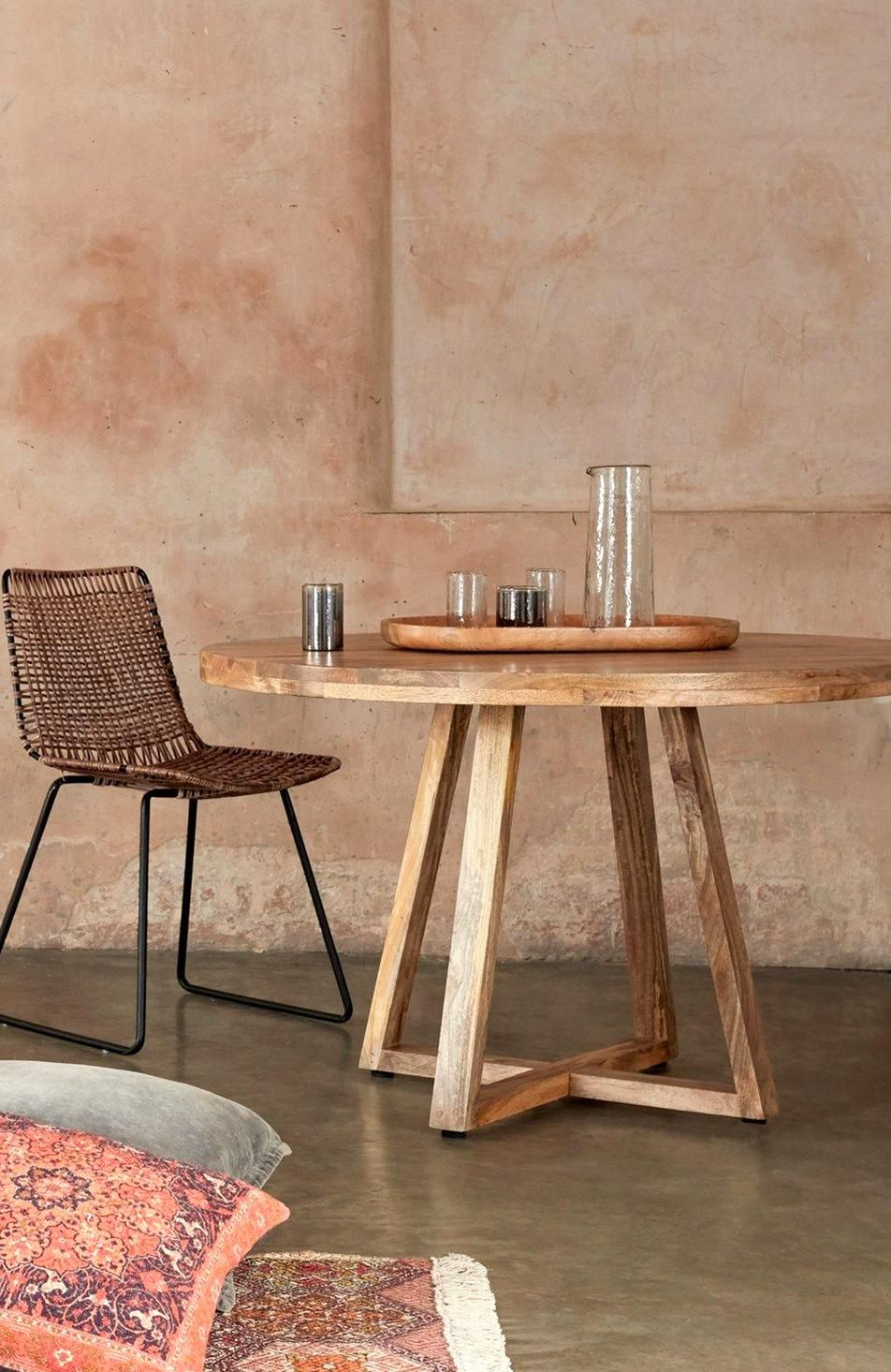 Round Wooden Dining Table Furniture French Connection In 2020