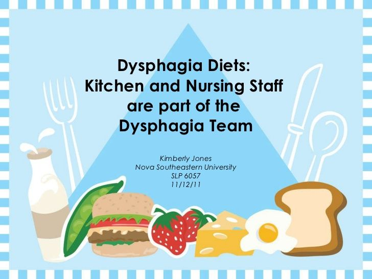 treat dysphagia with plant based diet