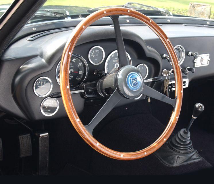 Aston Martin DB4 GT Zagato Interior