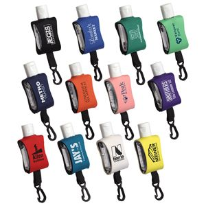 Cozy Clip 1 2 Oz Convenient Hand Sanitizer With Multiple Color