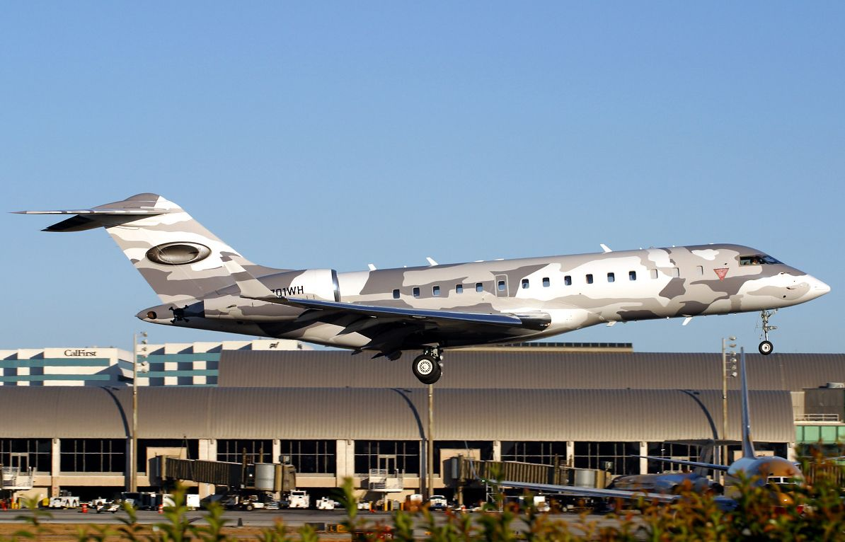 Cool Paint job Bombardier BD7001A10 Global Express