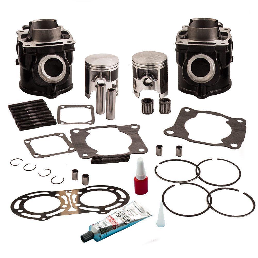 for yamaha banshee 350 yfz 350 pair cylinder piston rings gaskets top kit 87 06 [ 1000 x 1000 Pixel ]
