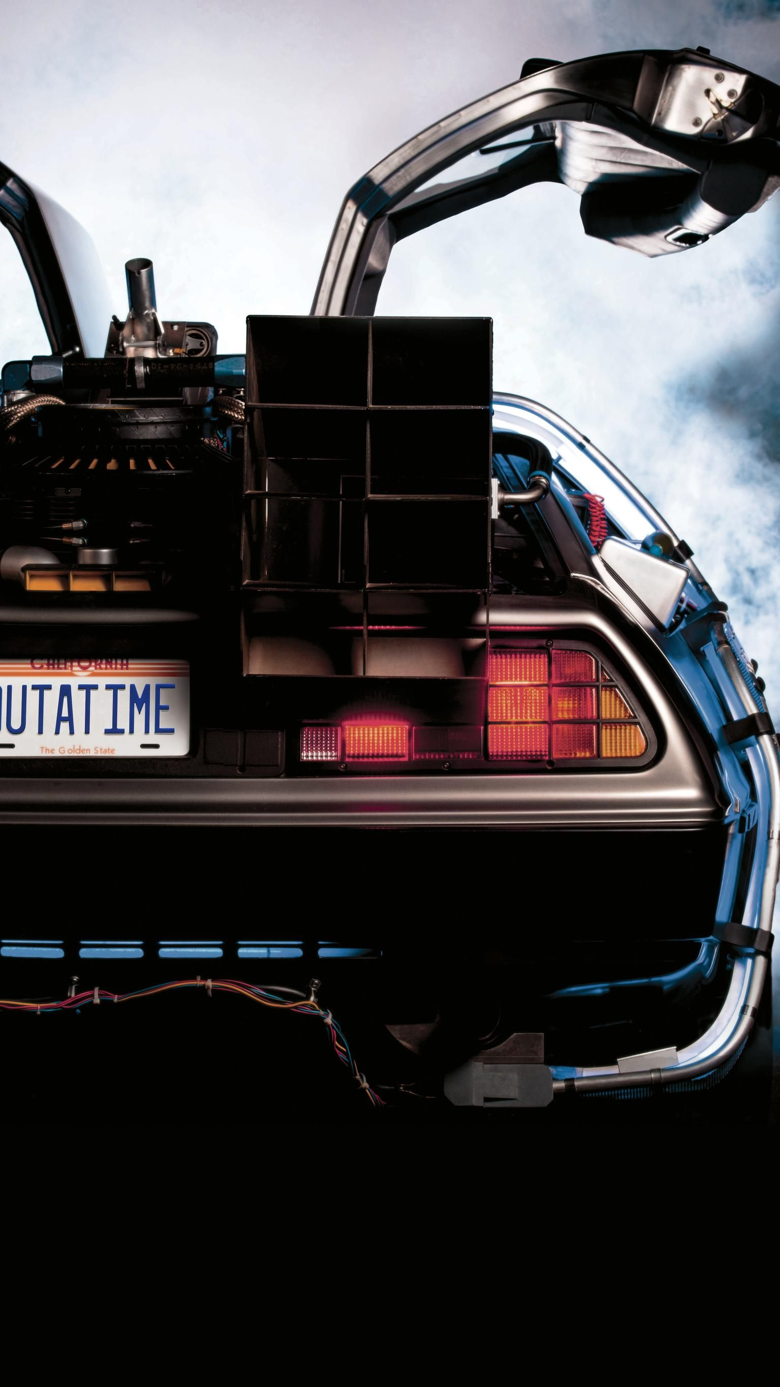 Back To The Future 1985 Phone Wallpaper Moviemania Future Wallpaper Back To The Future Future Car